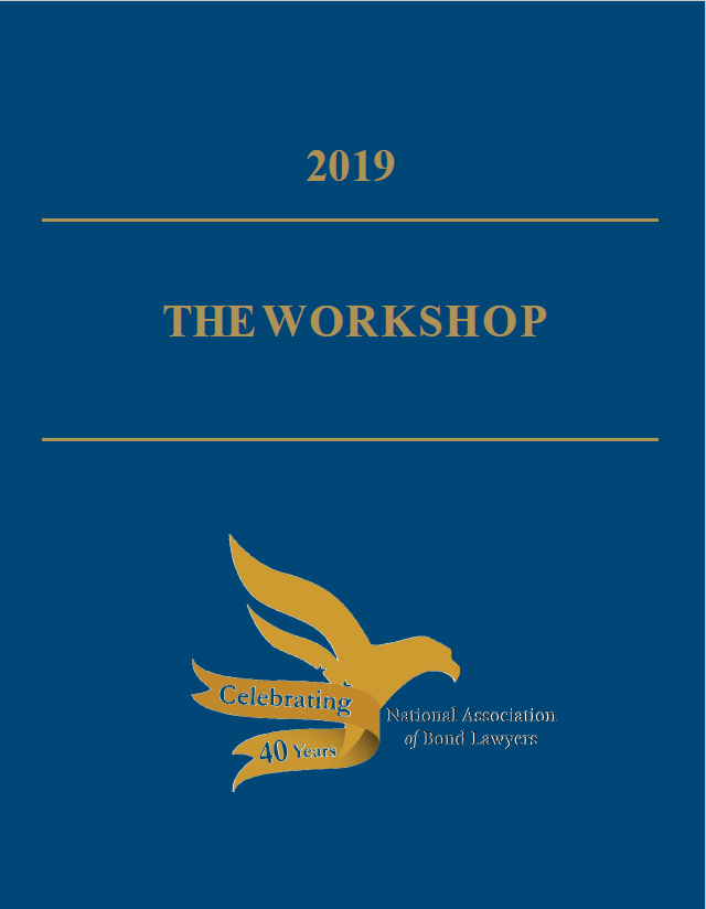The Workshop 2019 Blue Book of Outlines